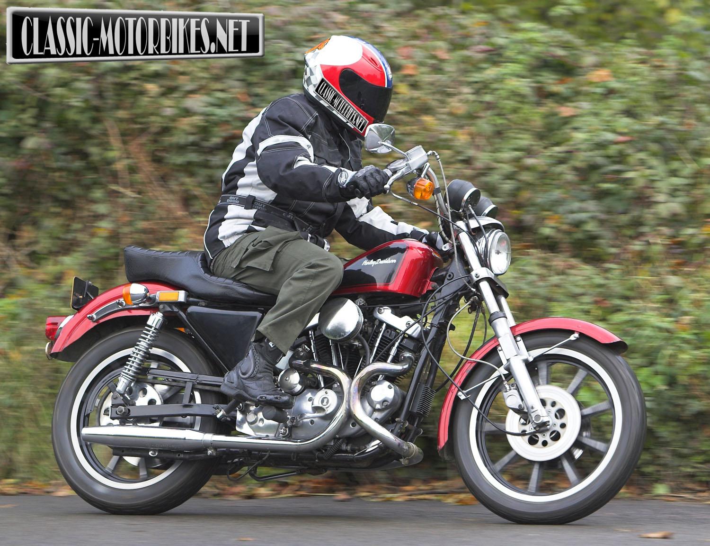 Harley Davidson Sportster - Classic Motorbikes