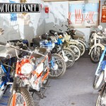 collection of Suzuki classic bikes