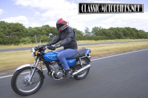 Kawasaki S1 250 Road Test