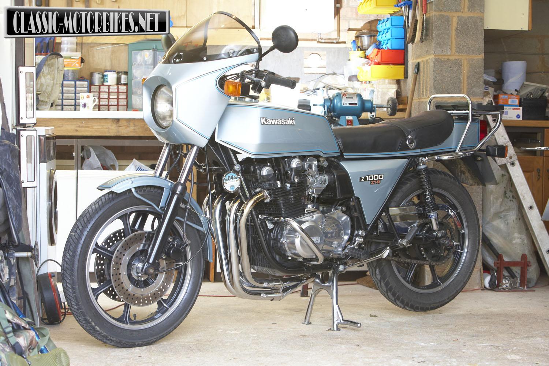 Kawasaki Z1R Restoration | Clic Motorbikes