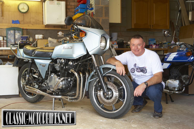 Kawasaki Z1R Restoration - Classic Motorbikes