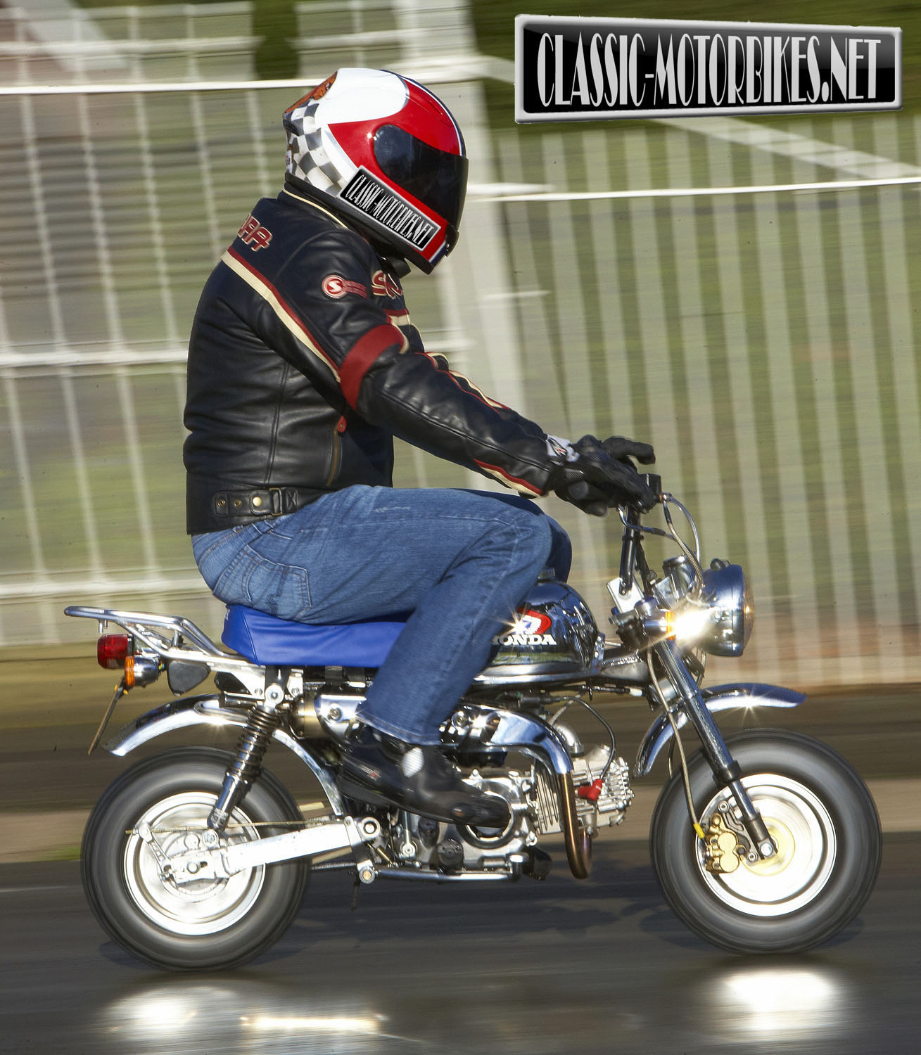 Honda Riding Gear >> Honda Z50 Monkey Bike Road Test - Classic Motorbikes