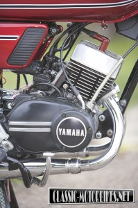Yamaha RD125B Engine
