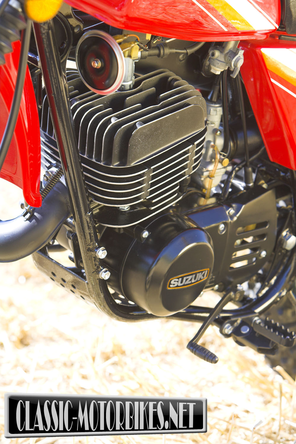 Suzuki claimed the TS was heavily influenced and based upon the motocross  machines of 1968 but, in reality the TS turned out to be a completely new  design, ...