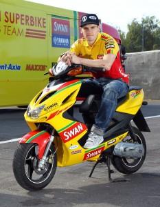 British Superbike Champion Tommy Hill Rides at Thundersprint 2012