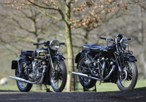 Vincent HRD Series A Rapide and Vincent Black Shadow