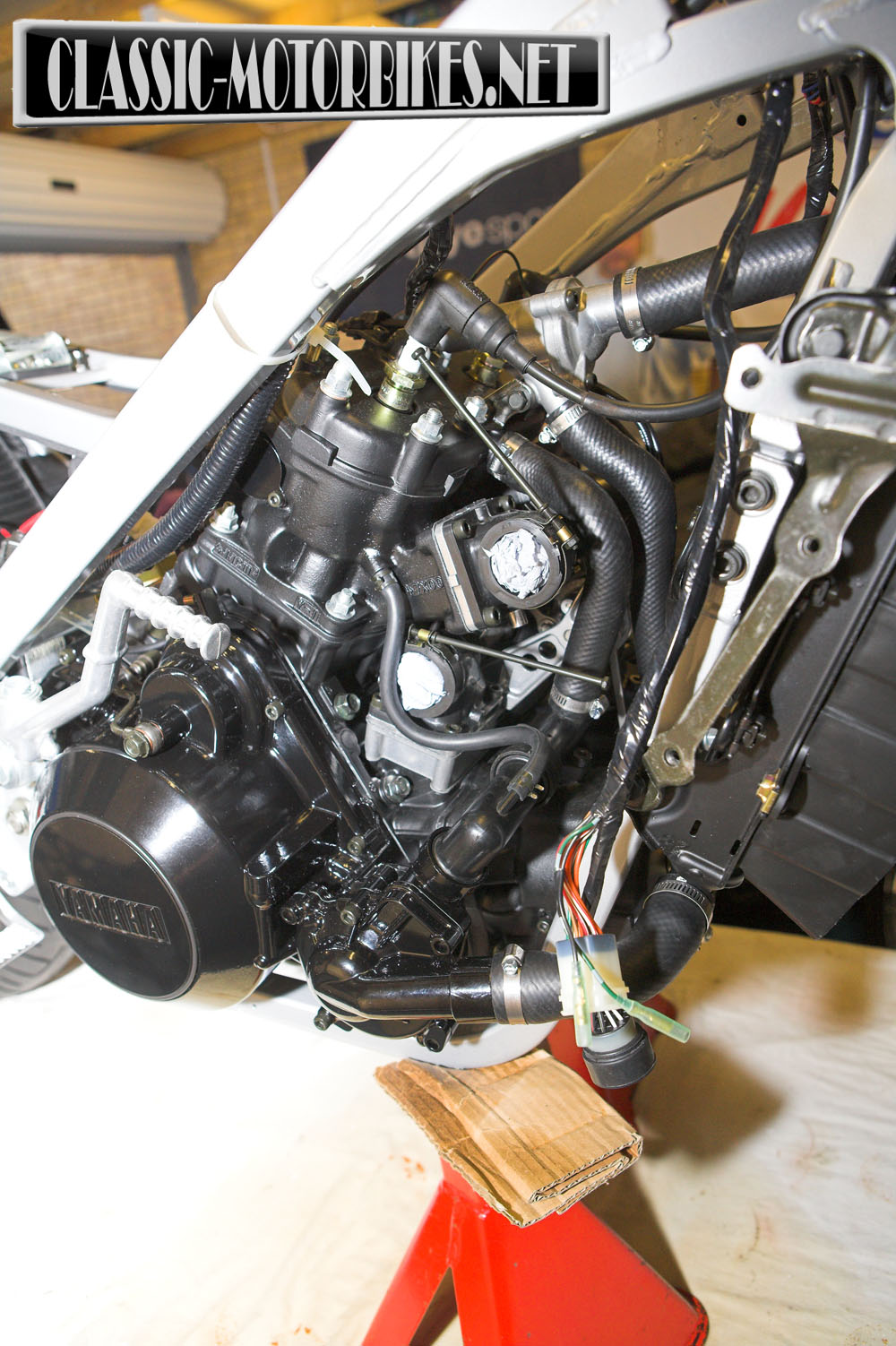 yamaha rd500 lc restoration classic motorbikes rh classic motorbikes net yamaha rz 500 service manual Yamaha TZ 750