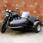 Watsonian Monza sidecar and Yamaha XJR1300 outfit