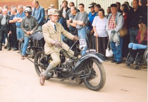 Over 600 vintage bikes gather for nostalgic Banbury Run