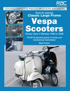 How to Restore Classic Large Frame Vespa Scooters