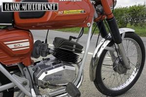 Malaguti Superquattro engine