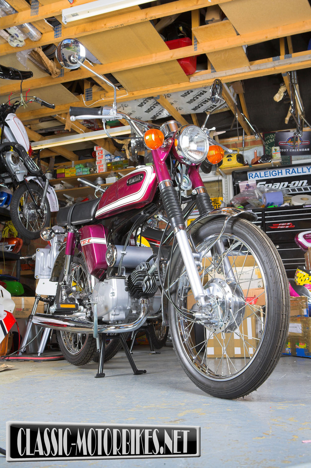 classic motorcycle restoration london