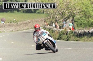 Rob MacElnea at the Isle of Man TT