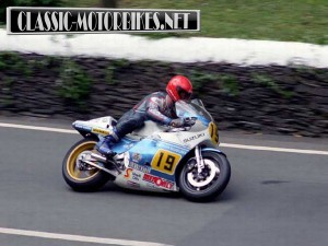 Rob MacElnea at the TT