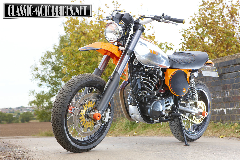 Yamaha xt500 special phase 4 classic motorbikes for Yamaha xt500 motorcycle