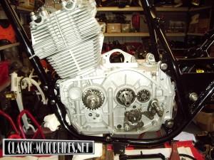 Laverda Montjuic Mk1 Engine