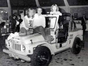 Barry Sheene's Pit Jeep