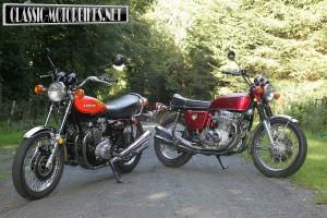Honda CB750 V Kawasaki Z1