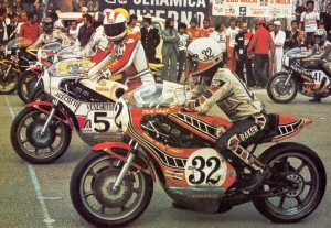 Baker and Cecotto - Yamaha OW31