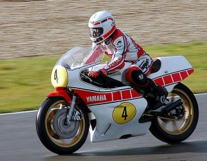 Steve Baker at the Centennial Classic TT Assen 2010