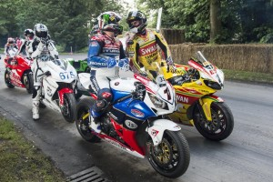 TWO-WHEELED WONDERS AT THE 2013 GOODWOOD FESTIVAL OF SPEED