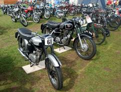 Vintage motorcycles display at South-West's largest festival of transport