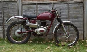 1959 James 199cc Commando Trials