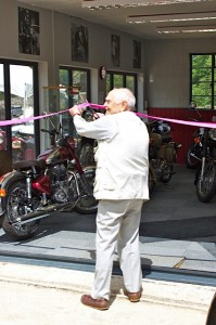 Sidecar Champion opens new Watsonian showroom