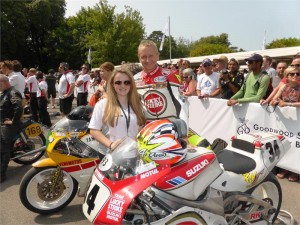 Kevin Schwantz At Goodwood