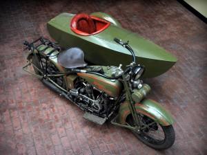 1926 Harley Davidson JD Sidecar a