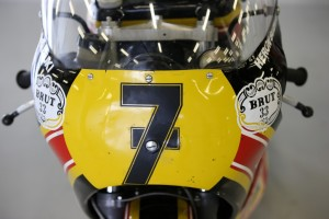Barry Sheene Tribute Parade at the British Grand Prix Barry Sheene's 1979 Factory Suzuki XR14