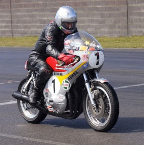 Jim Redman races at one event each - the Thundersprint