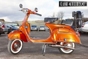 Vespa scooter restorations