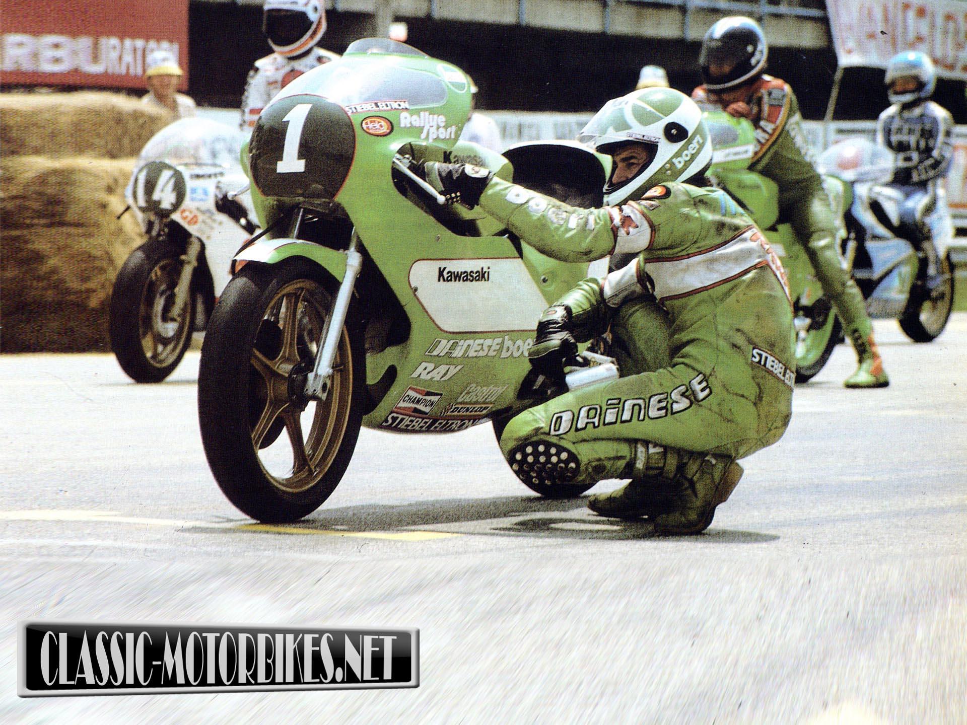 Kawasaki KR250 Race Bike