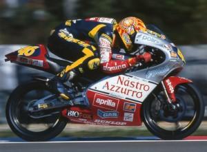 Valentino Rossi's World Championship winning 125cc Aprillia