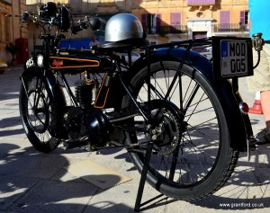 The Mdina GP Concours d'Elegance for Motorcycles