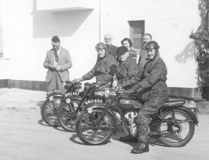 Classic bikes of the 1950's