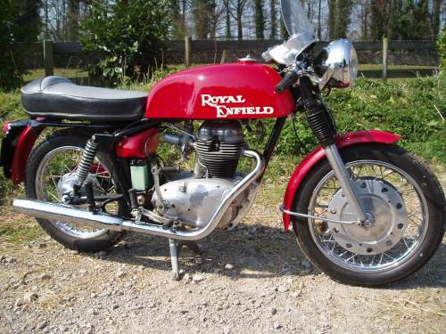 The New 2014 Royal Enfield Continental GT vs  the 1965 Original