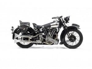 Ex-George Brough 1939 Brough Superior SS100