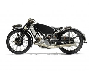 Ex-Phil Vare 1929 Scott 596cc Racing Motorcycle