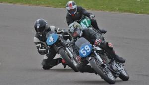 No59 Jack Hebb, No4 Ian Henshaw, No47 Mervyn Statford