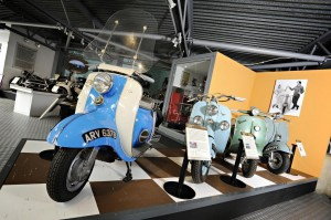 The National Motor Museum showcases the story of motorcycles