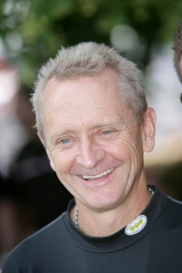 Kevin Schwantz at the 2013 Goodwood Festival of Speed