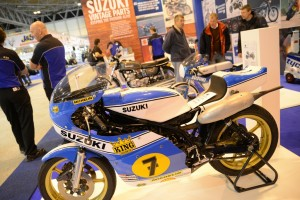 Barry Sheene's 1975 Suzuki XR14