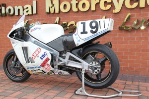 Steve Hislop's TT Winning Norton On Display