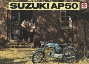 Suzuki AP50 Advert
