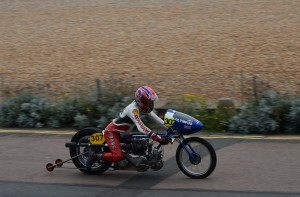John Hobbs Olympus Triumph Tiger 100 11.99sec 119mph