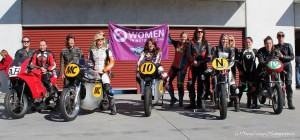 Costello Celebrates Women In Racing at the Barry Sheene Classic