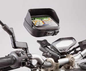 Navi Case Pro and GPS mount and handlebar clamp