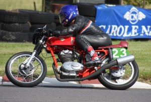 Cliff Shorter will be in action on his iconic 1962 Ducati